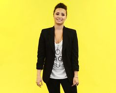 You see someone slip on a banana peel. | 14 Insanely Specific Demi Lovato Reaction GIFs