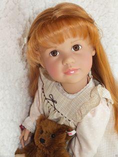 GÖTZ Puppe ✿✿ Anna Maria Steiff BÄR ✿✿ Manufakturpuppe ✿✿ Gotz Doll Poupee | eBay