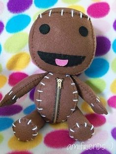Sackboy Inspired Plushie (Sackperson)
