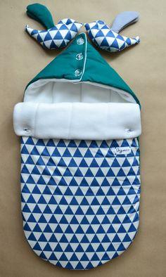 Sleeping bag for newborn winter Swaddle Wrap от OrigamicoWorkshop