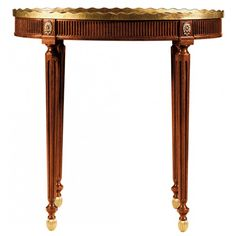 Baker Stately Homes Oval Table