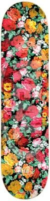 Real Torgerson Floral Oval Embossed SM 8.06 Skateboard Deck - view large