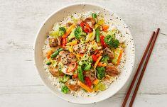 Countdown   Easy Vietnamese Pork Stir-Fry recipe Gluten Free Chilli, Vietnamese Pork, Pork Stir Fry, Stir Fry Recipes, Recipe Today, Pasta Salad, Fries, Nutrition, Dishes