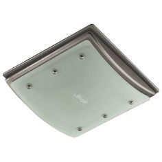 Hunter Bathroom vent fan helps vent moisture, with built in night light.