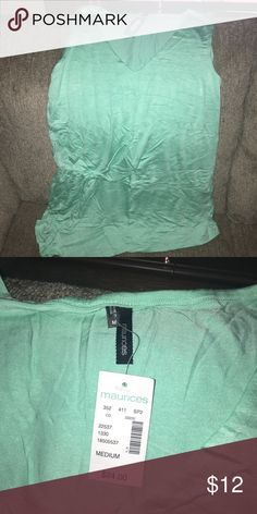 Brand New Maurice's top Brand new Maurice's top sea foam green really cute Maurices Tops Tank Tops