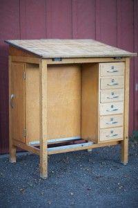 Hamilton Drafting Desk Vintage Drafting Table, Nook Ideas, Standing Desks,  Workspace Inspiration,