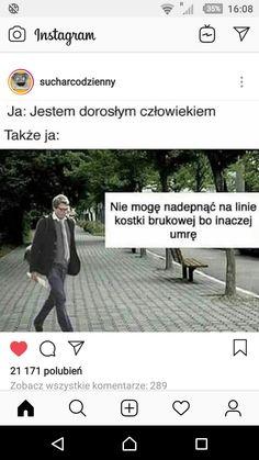 Polish Memes, Very Funny Memes, Funny Photos, Haha, Smile, Humor, Random, Pictures, Instagram