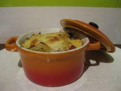 Cocette, mini pannetje met Witlof, ham en kaas.