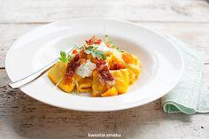 Pumpkin, Prosciutto and Ricotta Pasta