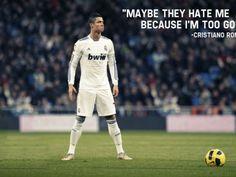 Cristiano Ronaldo Quote (click to view)