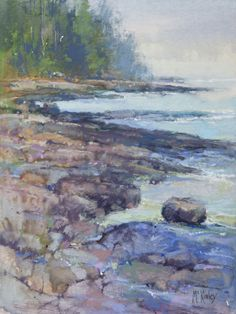Cobalt Morning by Richard McKinley Pastel ~ 12 x 9 Soft Pastel Art, Pastel Artwork, Soft Pastels, Paintings I Love, Painting Prints, Pastel Paintings, Landscape Drawings, Landscape Paintings, Landscapes