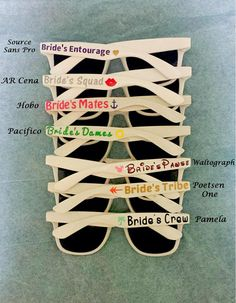15% off SALE for PINTREST CUSTOMERS- Customized Sunglasses Bulk for Weddings, Bachelorette Party Favors and Parties