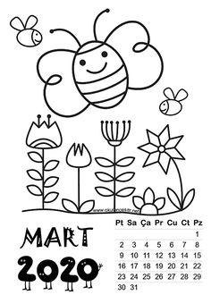 ✔ Summer Crafts For Kids Printable Photo Calendar, Calendar 2020, Templates Printable Free, Printables, Explanation Text, Summer Crafts For Kids, Christmas Drawing, Alphabet Worksheets, Christen