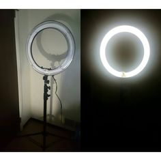 """Invest in yourself. Videos and picture quality will be so much better now that I purchased this Neewer Photo/Video Dimmable 18"""" Ring Light with stand"""