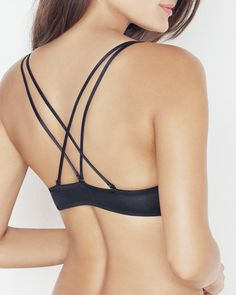 Double Crisscross Back Bra - IntiMint