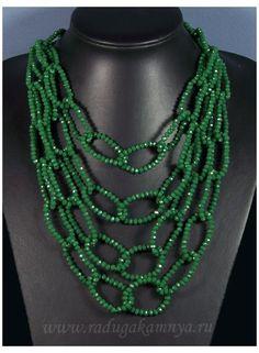 - Радуга Камня #bead #jewellery #with #price #beadjewellerywithprice Handmade Wire Jewelry, Beaded Jewelry Designs, Bead Jewellery, Jewelry Patterns, Necklace Designs, Handmade Necklaces, Jewelry Necklaces, Beaded Tassel Necklace, Diy Necklace