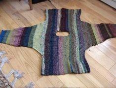 Tunisian Rainbow Jacket | Craftsy