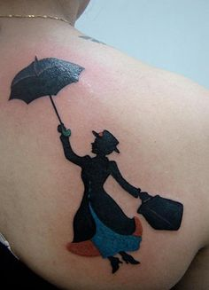 16 Even More Awesome Disney Tattoos - Haunted Mansion Painting | Guff