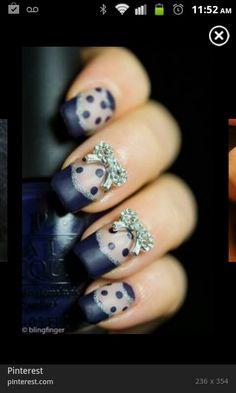 New Year nail designs