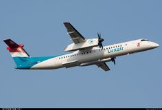 High quality photo of LX-LGN (CN: 4426) Luxair - Luxembourg Airlines Bombardier Dash 8-Q402 by sas1965