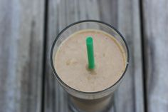 Drink This: Pumpkin Spice Smoothie - 1/2 cup pumpkin (canned or freshly cooked) 1/2 frozen banana 3/4 cup almond milk 1/2 scoop (or approx. 2 T) vanilla protein powder 1 tsp cinnamon 1/2 tsp pumpkin pie spice pinch of ground ginger Directions •Put all ingredients in the blender and blend until smooth. Pour into a glass and enjoy!