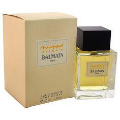 MonsieurBalmain http://www.perfumes.com/monsieur-balmain-pierre-balmain-men-3-4-oz/ Your Price: $35.40 (Retail Price: $62.00, 43% OFF) Created in 1964, this fragrance features notes of bergamot, lavender, basil, jasmine, lemongrass, ginger, carnation, cyclamen, oakmoss, cedar, musk, leather, patchouli.