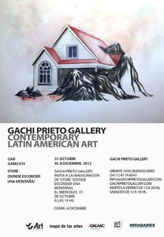 "VVArt Servicios Corporativos, PATROCINANTE de la exposición ""Store"" | 2012 – BS.AS. ARG. | Lugar: Gachi Prieto Gallery Contemporary Latin American Art"