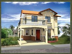 Modern bungalow house design, house balcony design, house with balcony, dre Modern Bungalow House Design, House Balcony Design, House With Balcony, Design Your Dream House, Conservation, Filipino House, Philippines House Design, Philippine Houses, House Design Pictures
