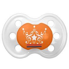 Koningslied Kroon Koningsdag Speentje. #oranje #holland #nederland #junkydotcom #koninginnedag #koningsdag #baby