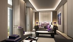 And guessing (NB!) these are renderings of the new Edition Gurgaon. Same style as for the Sanya, sleek and understated luxury.