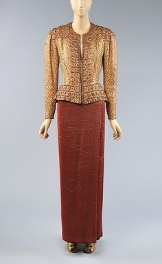 Evening Jacket    Elsa Schiaparelli, 1938