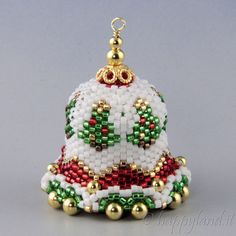 Christmas bell by Happyland87 on Etsy