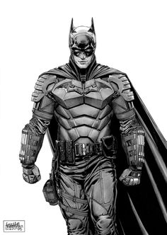 """Robert Pattinson - The Batman (by Garnabiel) Batman Gotham Knight, Batman Armor, Batman Suit, Batman Dark, Joker Batman, Batman The Dark Knight, Batman Arkham, Batman Robin, Batman Poster"