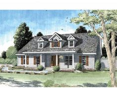 Eplans Country House Plan - Country Three Bedroom Full of Light - 2044 Square Feet and 3 Bedrooms from Eplans - House Plan Code HWEPL73175