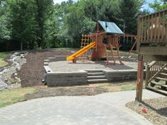 Retaining walls and water feature paver patio eagan, MN