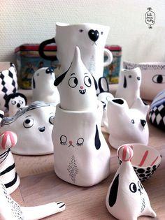 porcelaines by lili scratchy, via Flickr