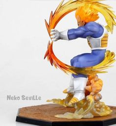 Figure Super Sayajin Vegeta - Dragon Ball Z #Dbz #Vegeta #SuperSayajin #Anime #DragonBall #classic #Power #awesome #Freeshipping