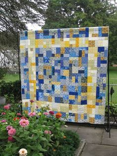 """Yellow Brick Road Pattern"" Quilts by Lorry Chwazik"