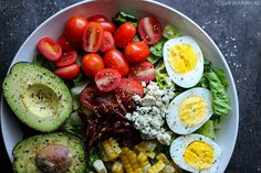 The Perfect Chopped Cobb Salad