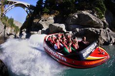 Jet Boat ride at The Shotover Canyon - New Zealand    www.seasonz.co.nz/index.php/experiences/114-queenstown-adventure-day