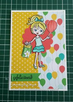 Stampin Up  Hey Girl Cherry on Top www.dianascardscatsandmore.blogspot.nl