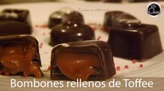 Bombones rellenos de caramelo (toffee) y licor - Tonio Cocina Honey Pie, I Love Chocolate, Chocolate Blanco, Sweets Cake, Biscuit Cookies, Food N, Chocolate Truffles, Sweet Recipes, Bakery