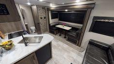 General RV Virtual Showroom | Browse RV Floor Plans, Videos Rv Floor Plans, Kitchen Cabinets, Kitchen Appliances, Travel Trailers, Showroom, Flooring, How To Plan, Videos, Home Decor