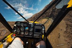 Below the canyon rim in central Oregon : flying