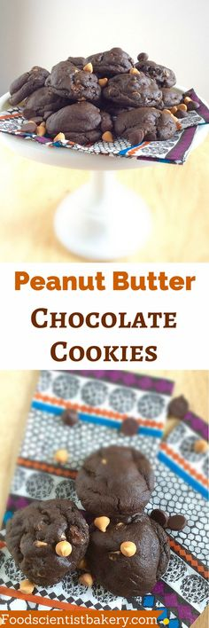 Fudgy, chewy, double chocolate cookies filled with peanut butter chips. They'll disappear as quickly as you can make them!
