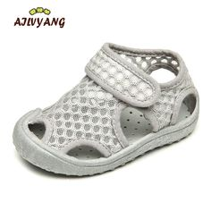 ... children shoes Suppliers  AILVYANG Brand Baby Boys Girl Summer Mesh Sandals  Shoes Children Breathable Beach Shoe Toddlers Casual Flats Anti-slip Shoes c908d5b92a0d