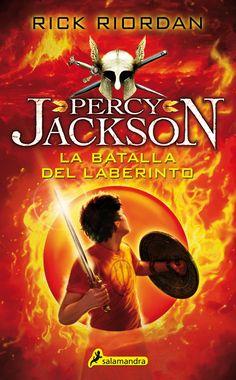 La batalla del laberinto (#4), de Rick Riordan - esta edición por favor!!!
