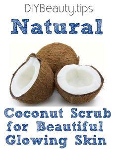 Natural Scrub for Glowing Skin