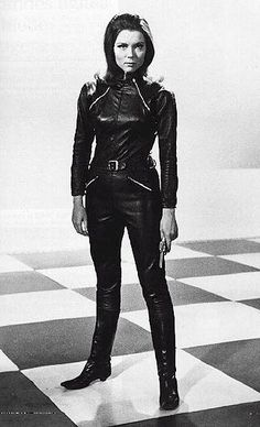 Emma Peel from hit tv show the avengers