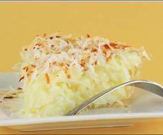 Receita de Torta de coco cremosa